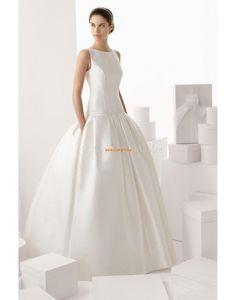Printemps 2014 Ceintures / Rubans Décolleté dans le dos Robes de mariée 2014