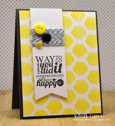cute use of bakers twine on this card #bakerstwine #cardmaking
