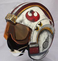 fan made X/Y Wing Fighter Pilot Helmets