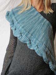 Ravelry: Betangled Shawlette pattern by Jennifer Weissman dk