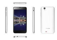 """Hisense HS-U970 (W) Smartphone Android con Procesador Quad-Core 1.2GHz con 1GB RAM + 4GB EMMC. Pantalla Táctil 5"""", Wi-Fi, GPS, Bluetooth, FM. Cámara Trasera 8 MP (AF) con Flash LED y Cámara Delantera 0,3 MP. Batería 2000 mAH, Sensor de Proximidad, Sensor de  luz Ambiente. Micro USB, 3.5mm headset Jack. #Hisense #Smartphone #U970 #Tecnologia #Android #blanco"""