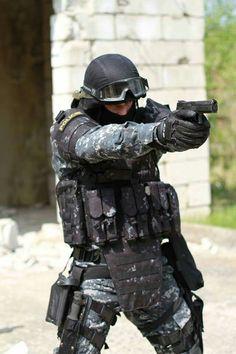 Czech special police unit urna