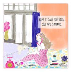 """""""Ser Glamourette en lunes nunca ha sido fácil... Ilustración: #fashcom """" @glamourmex @FASHCOMofficial"""