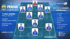 Starting XI #PERSIBday #GoJekTravelokaLiga1  #PERSIB (vs Bali United)