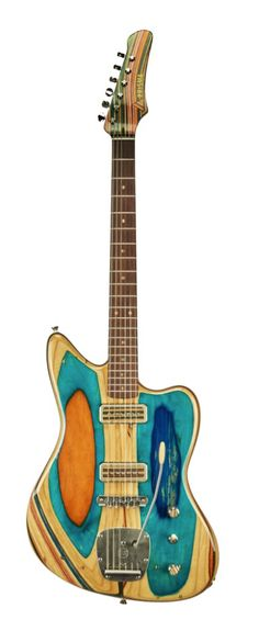 Prisma Guitars • Made from old skateboards