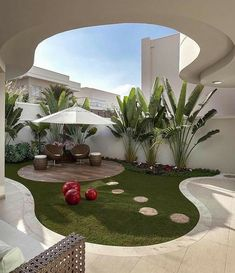 34 Admirable Modern Backyard Design Ideas You Will Love - A Backyard In The House Is An Extension Of The House. Taking a gander At The Backyard, Anyone Can Tell About The Kind Of People Staying The House. Modern Backyard Design, Terrace Garden Design, Outdoor Patio Designs, Garden Landscape Design, Small Garden Design, Urban Landscape, Landscape Architecture, Architecture Design, Modern Design