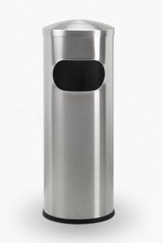 7 Gallon Allure Mini Stainless Steel Trash Can Garbage