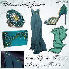 Disney Style: Flotsam and Jetsam, created by trulygirlygirl on Polyvore