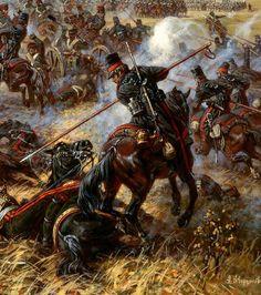 attaque des cosaques russes