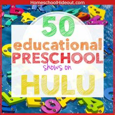This list of 50 educational preschool shows on Hulu is the BEST I've seen! I'm adding these to my watch list to make my life a little easier. Preschool Weekly Themes, Preschool Learning, Preschool Ideas, Toddler Activities, Amazon Education, Kids Education, Kids Learning Computer, Homeschool Curriculum Reviews, Homeschooling