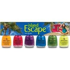 China Glaze Island Escape Collection Set >>> More info could be found at the image url.Note:It is affiliate link to Amazon.