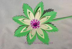 Easy paper flower | Mashustic.com