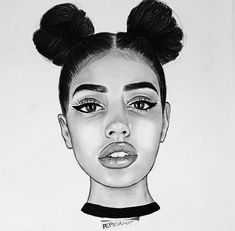 cartoon drawings of girls, lip drawings, drawing lips, heart drawings, Black Girl Art, Black Women Art, Black Art, Art Girl, Girl Drawing Sketches, Cartoon Girl Drawing, Cute Drawings, Lip Drawings, Cartoon Drawings