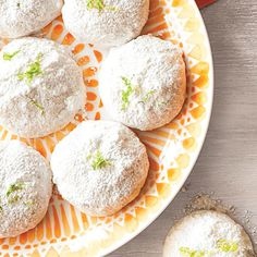 MyRecipes recommends that you make this Lemon-Lime Mexican Wedding Cookies recipe from All You Easy Cookie Recipes, Cookie Desserts, Mexican Food Recipes, Dessert Recipes, Mexican Dinners, Mexican Desserts, Cookie Ideas, Easy Recipes, Vegan Recipes