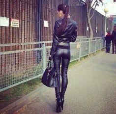 Fashion #leatherandlace #roar