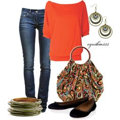 Colorful! Paisley Bag, created by cynthia335 on Polyvore