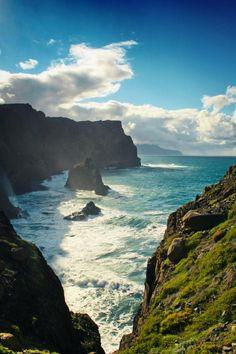 Wild coast of Madeira | Portugal  #Portugal