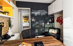 Construindo Minha Casa Clean: Quadro Negro ou Lousa na Decoração!