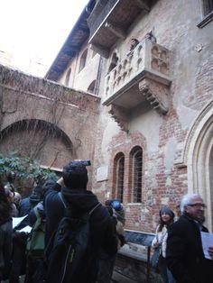 Juliet's balcony- Verona