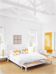 white white white + a touch of yellow