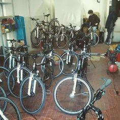 Oggi lavori di magazzino #bicicletta