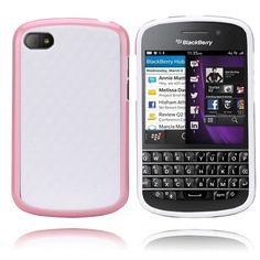 EdgeWhite (Rosa) BlackBerry Q10 Deksel