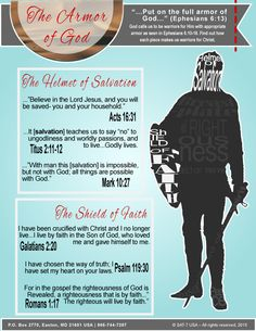 """Next up on our study of the #ArmorOfGod is a look into the Helmet of #Salvation and the Shield of #Faith. Follow me to see how we can become warriors for God in this seven week study, """"Creating God's Army.""""  #TruthFilledHope"""