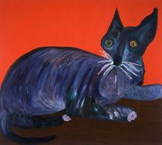 Martin Maloney - Cat Painting