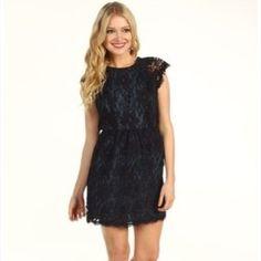 Bcbgeneration Short Black Dress