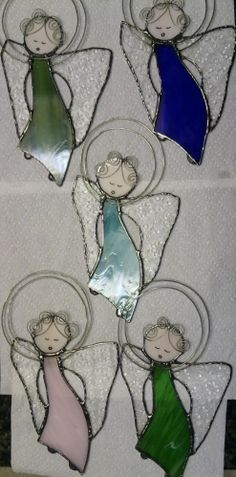Five more angels done  for Christmas