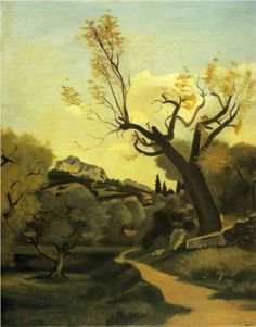 The road and the tree  - Andre Derain
