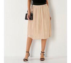 Plisovaná sukňa s pružným pásom   blancheporte.sk #blancheporte #blancheporteSK #blancheporte_sk #novákolekcia #jar #leto Lingerie, Midi Skirt, Vogue, Spring, Skirts, Fashion, Elegant, Linens, Men Wear