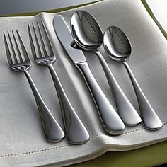 Cirrus Flatware in Flatware Patterns | Crate and Barrel