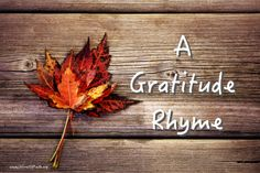 There is a hidden remedy, To counter a stressed attitude, We can count all our blessings, With a heart of gratitude.