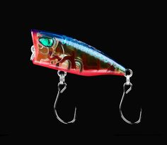Topwater Popper Fishing Lure Bait Goods for Fishing 2 Pieces Wobblers Tackle Isca - Fishing Gear Shop Fishing Tackle, Fishing Lures, Gear Shop, Bait, Mini, Fishing Rigs, Fishing Equipment, Fly Tying, Bass Fishing Lures