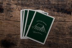 Camp Cards | Bradley Mountain Camping Life, Custom Cards, Deck Of Cards, Your Best Friend, Bradley Mountain, Hand Lettering, Custom Design, Hiking, Prints