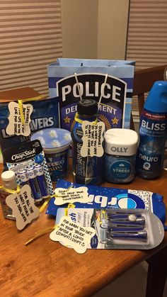 "Police appreciation gift for my husband! Are you looking for original ideas for a gift for husband and you can't make a worthy choice? Try this <a href=""https://deliveryofpleasure.com"" rel=""nofollow"">list of best gift ideas</a> which was created by a bunch of geeks who partake in way too much online window shopping. gift for husband 