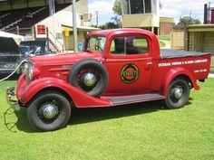 1934 Chevrolet Utility Truck.