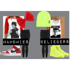 I love them both and i love both of the clothings rhey have for their mahomies and beliebers
