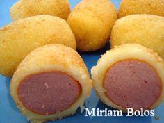 Culinária-Receitas - Mauro Rebelo: Doguinhos Friturinhas
