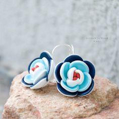 leto v Saint Tropez II. / Zboží prodejce colours in bloom Polymer Clay Flowers, Polymer Clay Earrings, Saint Tropez, Baby Shoes, Bloom, Colours, Jewelry, Texture, Manualidades