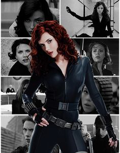 Let's show Black Widow some love!  #marvel #gif