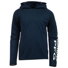 Columbia Terminal Tackle Hoodie for Boys - Collegiate Navy - XXS