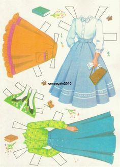 "Disney Presents Hayley Mills in ""Summer Magic"" Paper Dolls (4 of 10), 1963 Whitman #1966"