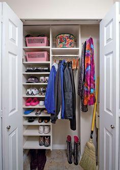 Hall Closet Organizer Jpg 450 634 Pixels Hallway Room