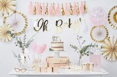 Oh-Baby-White-and-Gold-Baby-Shower
