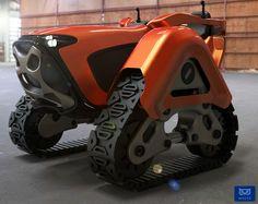 Little Tractor for Big Jobs | Yanko Design
