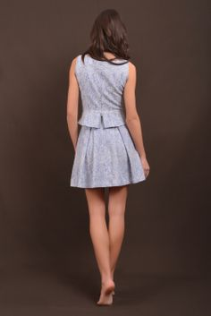 Brogart skirt and top back