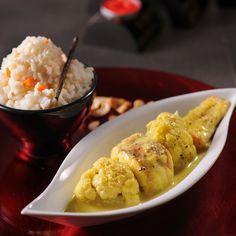 Recette Chou-fleur, lotte & vanille - Plats, Entrées chaudes