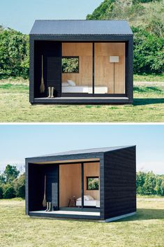Unique and simple home design. There are many examples of modern home designs choose your choice here. Unique and simple home design. There are many examples of modern home designs choose your choice here. Simple House Design, Minimalist House Design, Tiny House Design, Minimalist Home, Modern House Design, Backyard Office, Backyard Studio, Outdoor Office, Backyard House